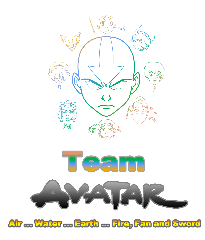 Avatar Logo: Logo Of Team Avatar By Avatalblue26 On DeviantArt