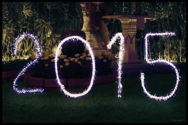 Happy New Year 2015 by ookamedias