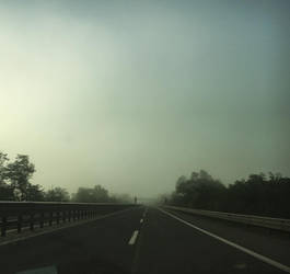 My way is long, but the road is foggy