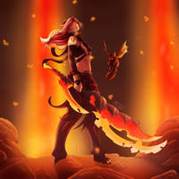 AQ3D Demon Babe by Miss-Vyris