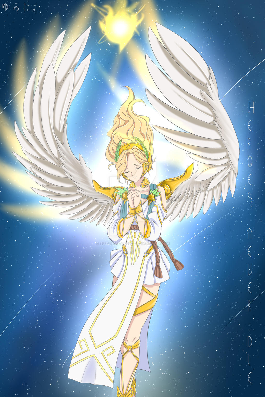 Winged Victory Mercy by OlchaS on DeviantArt