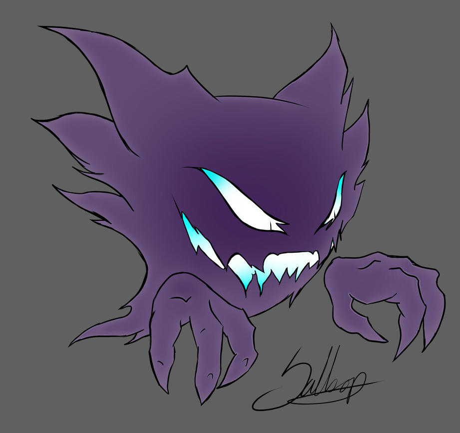 Haunter by ShikiCreations on DeviantArt