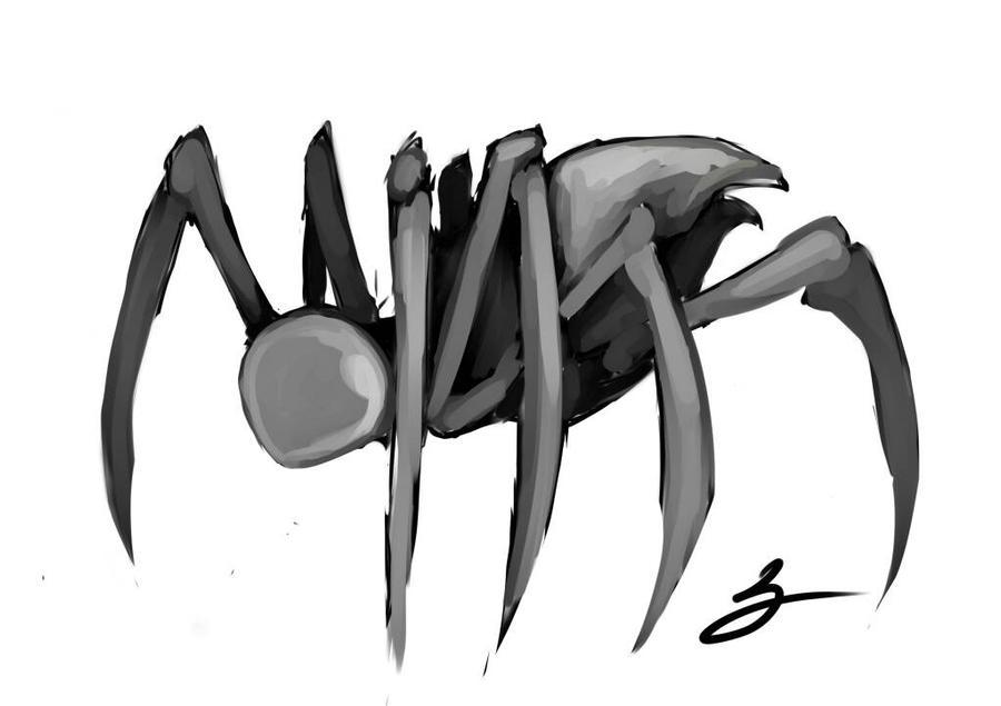 metallic spider by ShikiCreations