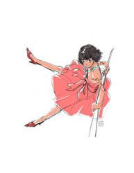 A Girl by SteveAhn