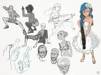 Doodles by SteveAhn