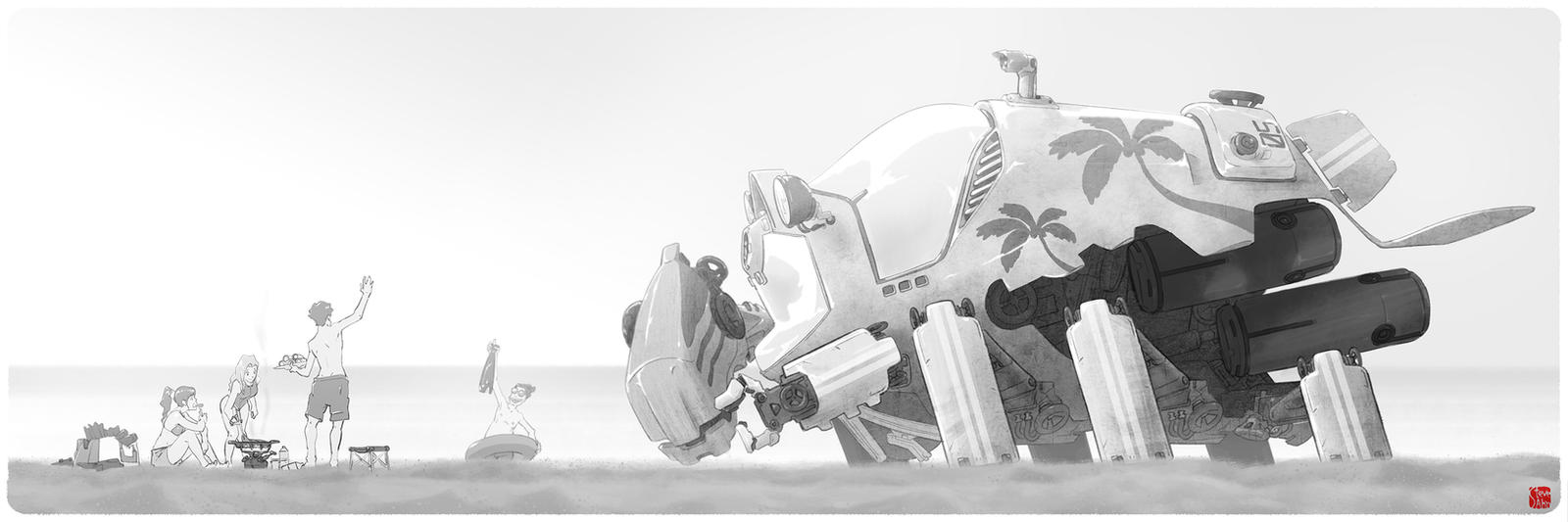Sub-Mechrine#05 by SteveAhn