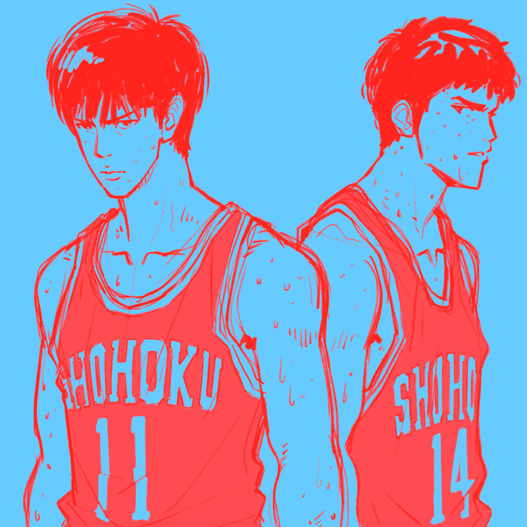 SHOHOKU #11 And #14 By SteveAhn On DeviantArt