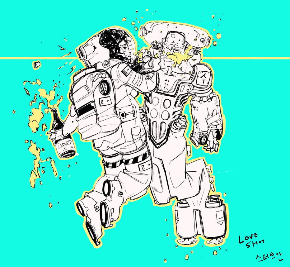 LOVE SHOT _ SPACE x SUBMECHRINE by SteveAhn