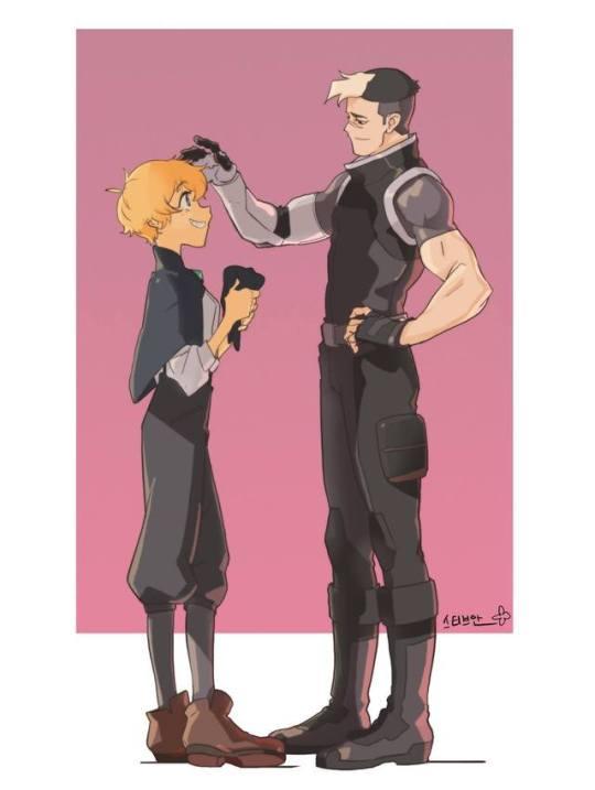 Holmes meets Shiro by SteveAhn