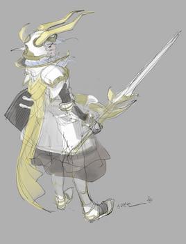 FF1 Warrior of Light
