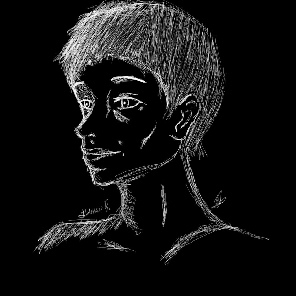 Portrait - Ildemaro R. by OriChes