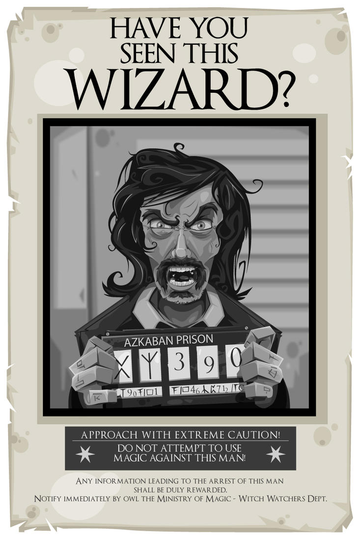 graphic relating to Have You Seen This Wizard Printable identified as Include On your own Noticed This Wizard Printable