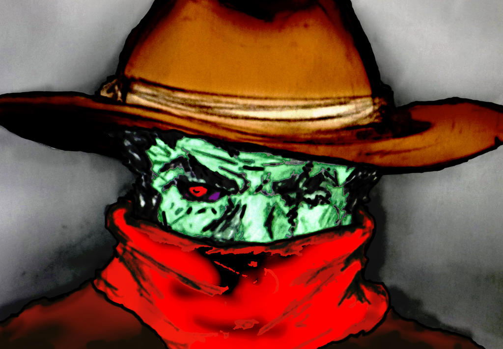 Zombie Cowboy Color by tandaolong on DeviantArt