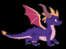 Happy birthday, Spyro! by Herobula