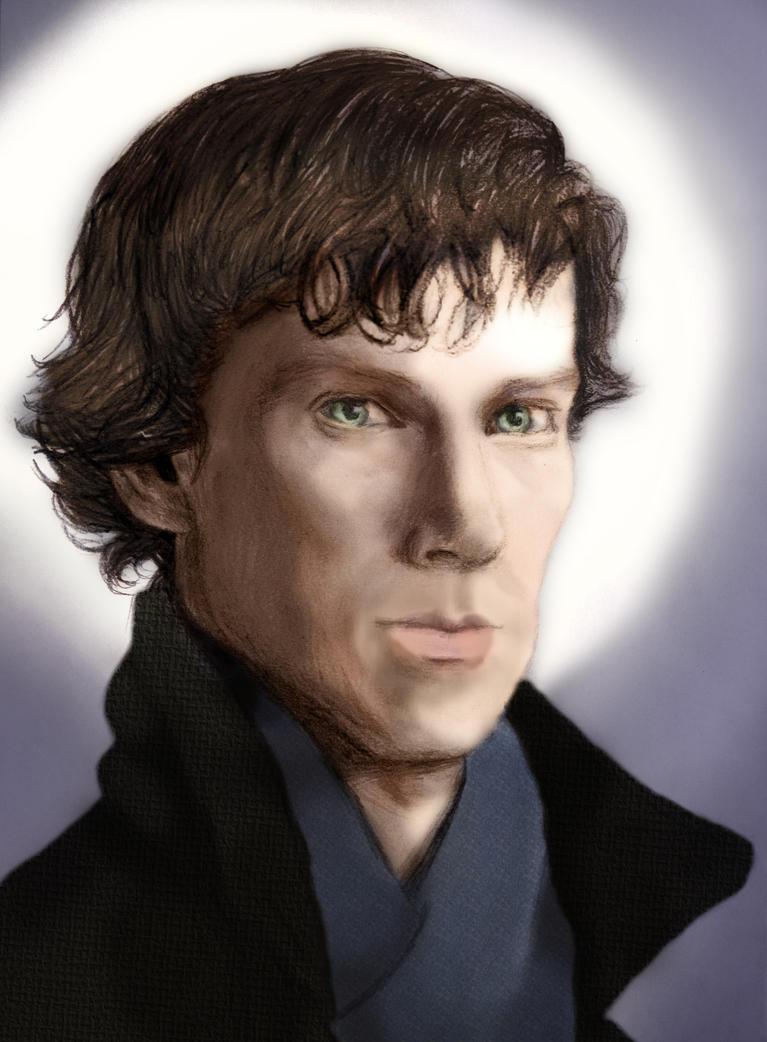 Benedict Cumberbach by xxhtloverxx
