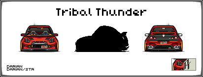Pixel GTR by tribalthunder