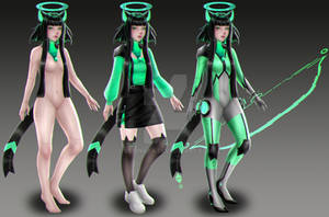 CS Kittybot - Archer Prototype [AUCTION OPEN] by VexingYA