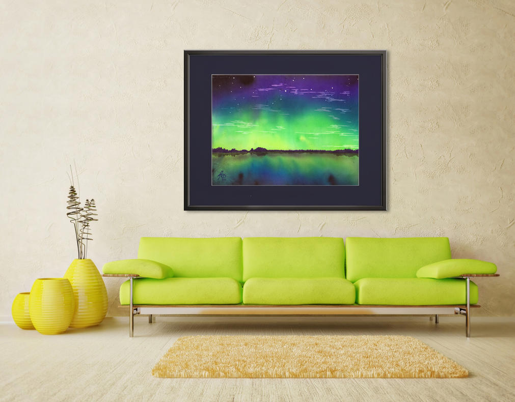 Aurora Borealis 1 by santagro