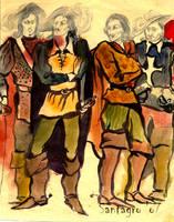 Musketeers by santagro