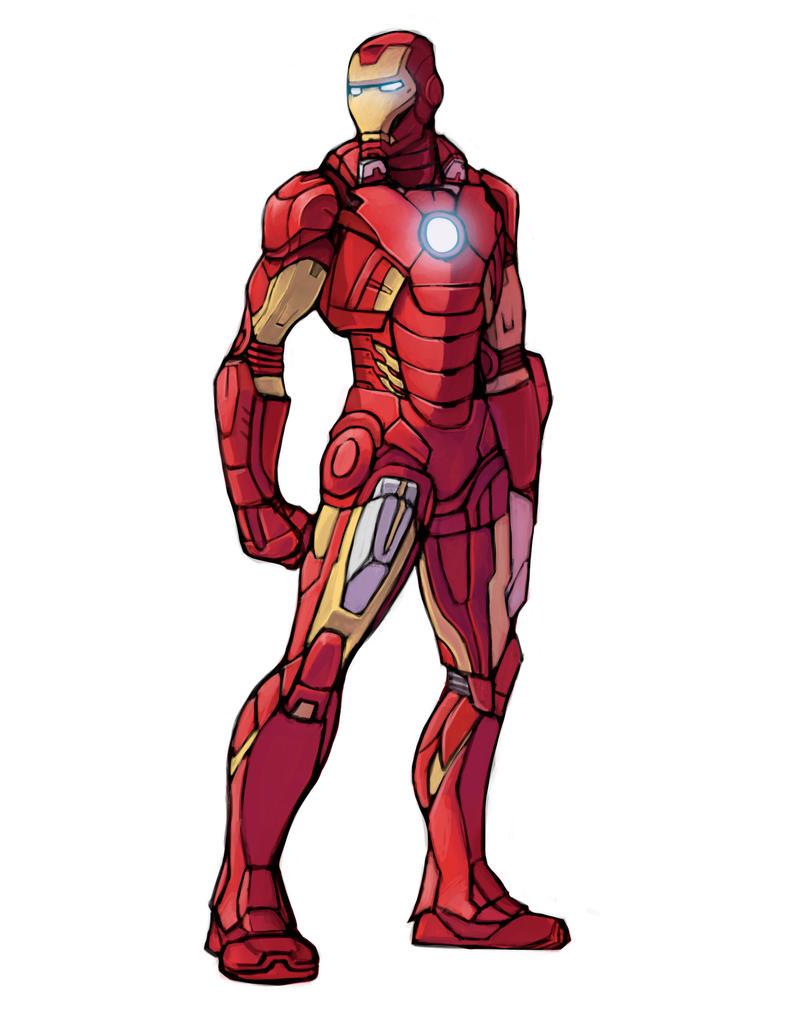 Iron Man Armor Designer Game