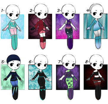 4/8 Open - Adopt Batch 06 - Misc. Outfits