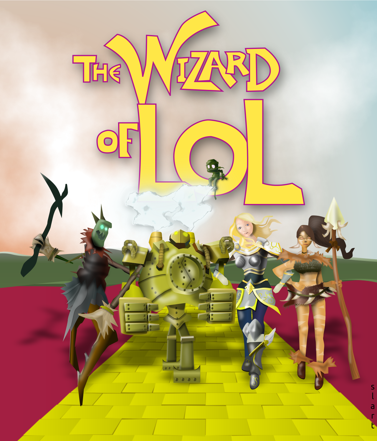 The Wizard of LoL by slart