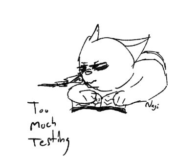 Too Much Testing by Gamia18