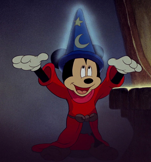 49ff0454a395c Yen Sid s Sorcerer Hat  - Gives Mickey amazing magic abilities - Can bring  inanimate objects to life and grant them limbs to perform a desired task