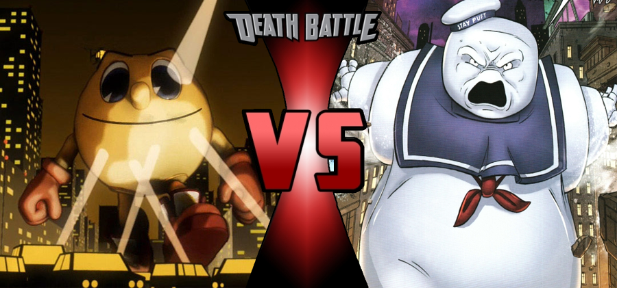 Death Battle Pac Man Vs Staypuft Prelude By Maxfunnies2550