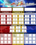 My own Project X Zone Game Template (ALT)