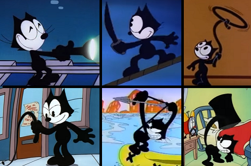 Felix The Cat Ripping His Face Off