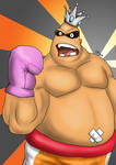 Punch-Out King Hippo