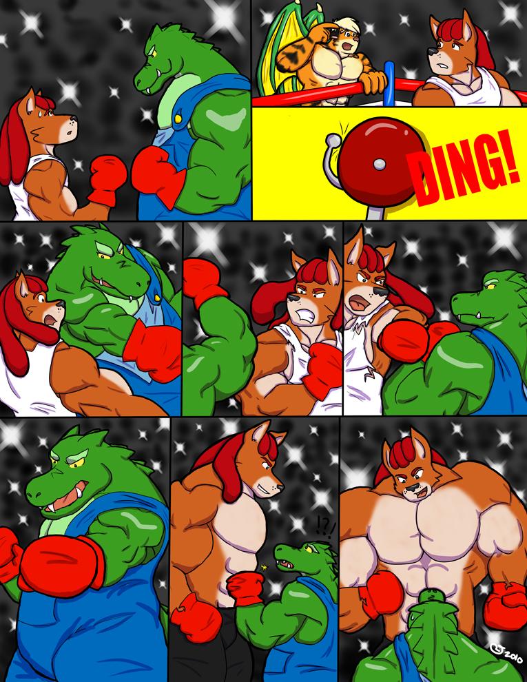 The Big Fight P3 by CaseyLJones