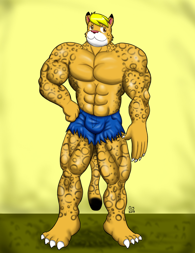 TF commission: The Leopard Costume 5 by CaseyLJones