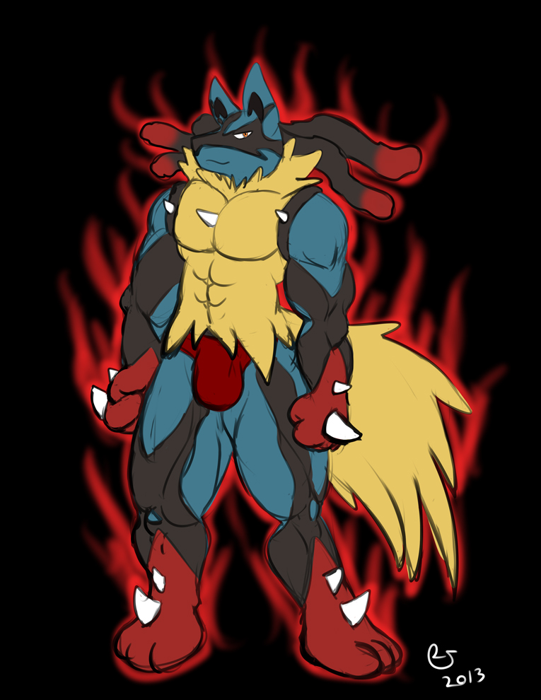 Pokemon Anthro Mega Lucario By CaseyLJones On DeviantArt