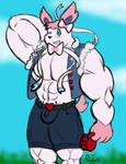 Commission: Buff Sylveon