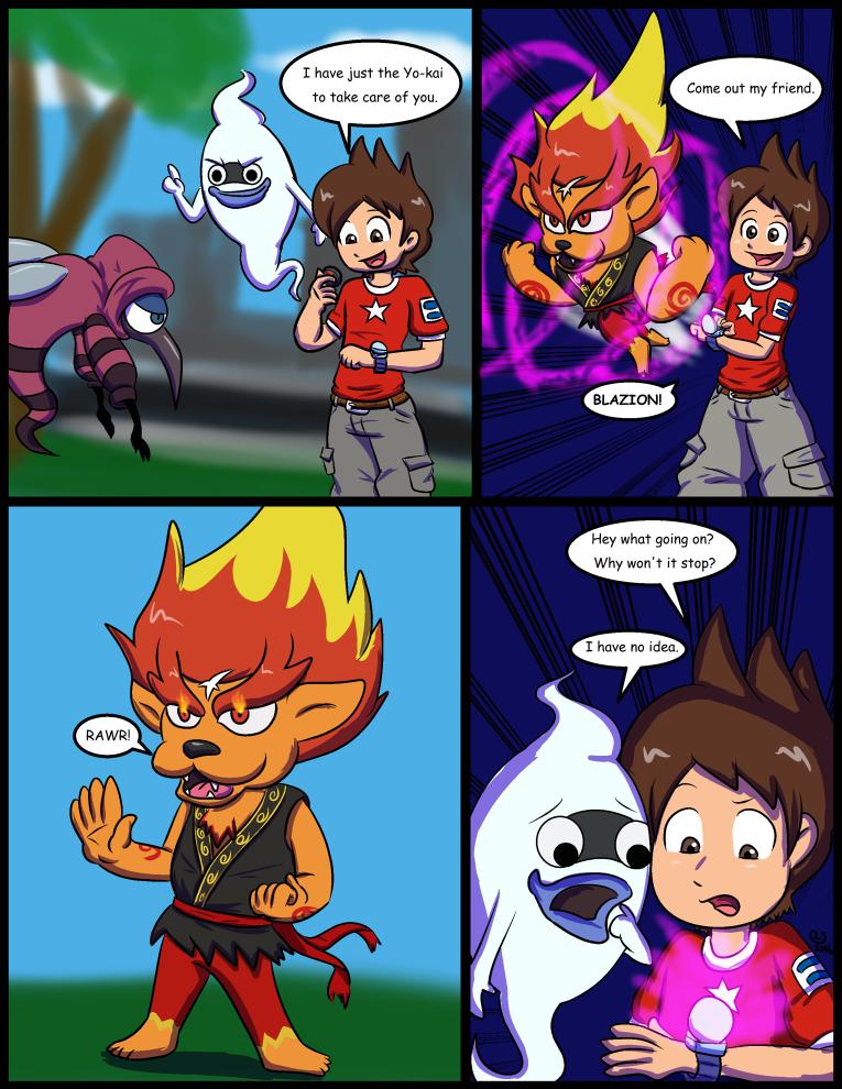 MG Commission: Yo-Kai Growth 1 by CaseyLJones on DeviantArt