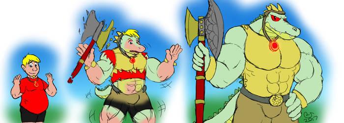 TF Commission: Gator Warrior