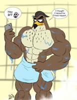 Buff Fantart Friday: Falcon Graves by CaseyLJones