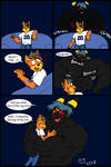 Comic Sketchmission: Surprise Umbreon Hug