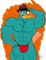 Patreon: Buff Perry the Platypus by CaseyLJones