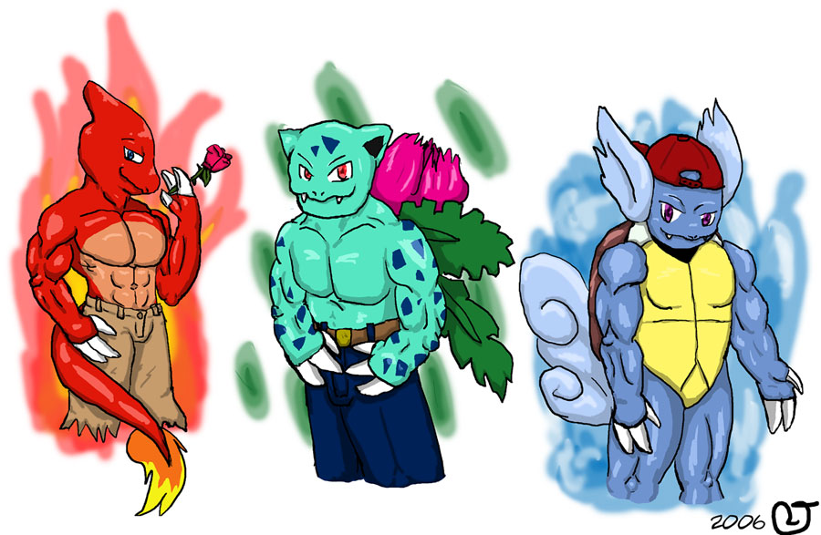 Sterter Pokemon Anthros 2 By CaseyLJones On DeviantArt