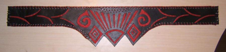 Art Deco Belt by Adreanna