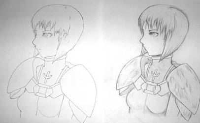 Claymore - Clare A3 WIP