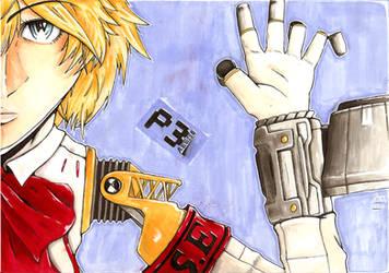 Persona 3 - Aegis by Jope-san