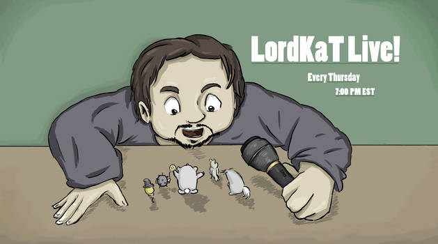 LordKaT Live! Title Card