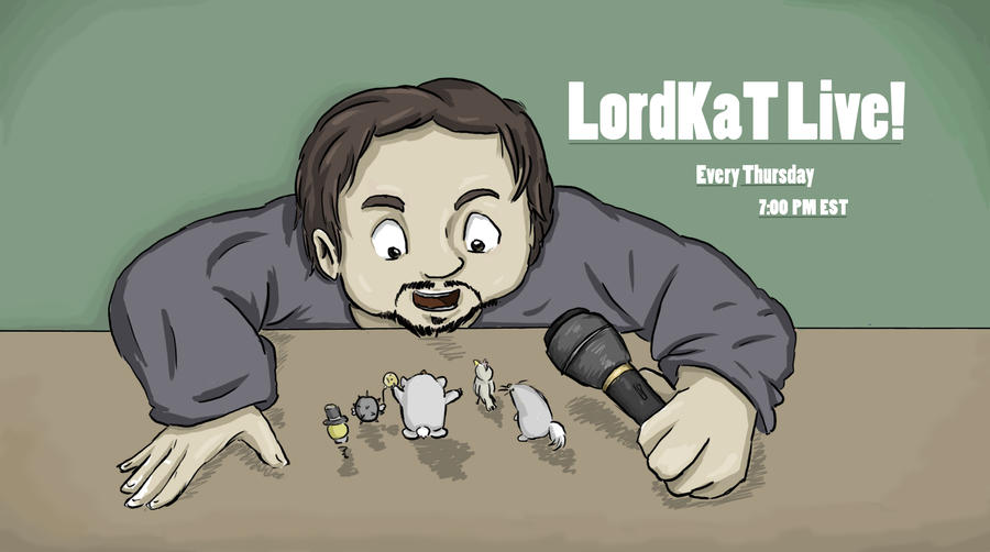 LordKaT Live! Title Card by Jope-san