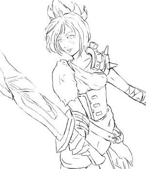 League of Legends - Riven WIP