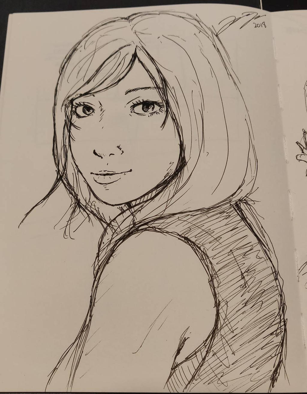 Random sketch  by Jope-san