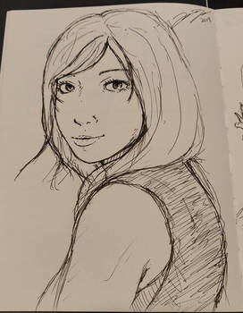 Random sketch  by Jope-san
